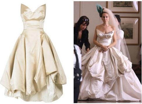 carrie wedding dress